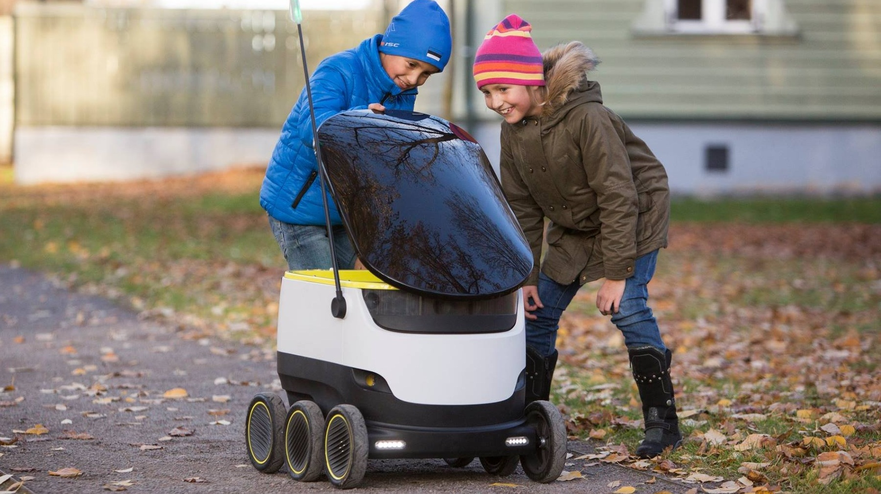 Autonomous Delivery Robots: Glimpse Of Future Delivery System